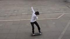 How to frontside ollie & kickflip