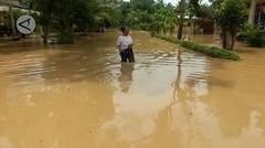 Ratusan rumah di desa Wono Asri Jember kembali terendam banjir