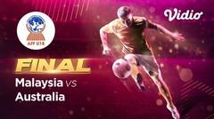 Full Match Final - Malaysia vs Australia   Piala AFF U-18 2019