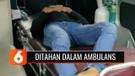 Terjaring Razia karena Tak Pakai Masker, Warga di Ciamis Ditahan Dalam Mobil Ambulans
