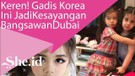 Wow! Gadis Cilik Ini jadi Kesayangan Bangsawan Dubai