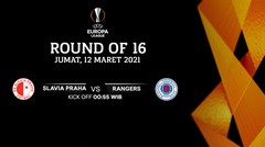 Slavia Praha vs Rangers - Round Of 16 I UEFA Europa League 2020/21
