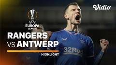 Highlight - Rangers vs Antwerp I UEFA Europa League 2020/2021