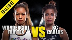 Wondergirl Fairtex vs. KC Carlos | ONE Championship Full Fight