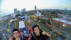 Malam Karnaval Di Surabaya