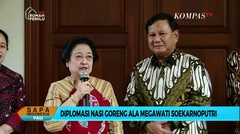 Puji Nasi Goreng Megawati, Prabowo: Luar Biasa! Saya Sampai Nambah Padahal Disuruh Diet...