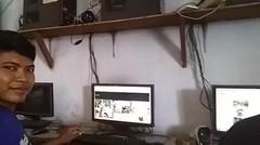 vlog dj di warnet  asyik nofin asia enak banget