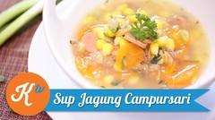 Campursari Corn Soup Recipe | CINDY PARAMITHA