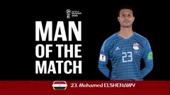 Interview MOHAMED ELSHENAWY (Mesir) Man Of The Match Mesir vs Uruguay Piala Dunia 2018