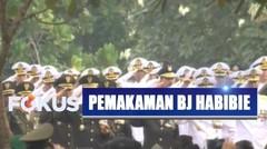Penghormatan Terakhir Seluruh Peserta Upacara untuk Almarhum BJ Habibie - Selamat Jalan BJ Habibie