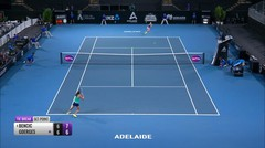 Match Highlight | Belinda Bencic 2 vs 0 Julia Goerges | WTA Adelaide International 2020