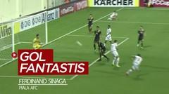 Gol Fantastis Striker PSM, Ferdinand Sinaga di Piala AFC