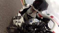 Gopro | Test Drive Honda CBR 600 RR di sirkuit motogp Misano Italia