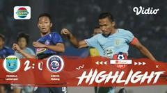 Full Highlight - Persela Lamongan 2 vs 0 Arema FC I Shopee Liga 1 2019/2020