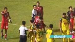Detik-Detik Terjadinya Perkelahian Andik Vermansyah Di Liga Malaysia