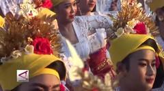 Pecahkan Rekor, 2000 wanita menari tenun di Petitenget