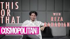 Reza Rahadian Mantap Jawab 'Kiss on the Lips'!