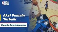Nightly Notable | Pemain Terbaik 8 Maret - Giannis Antetokounmpo | NBA All-Star 2020/21