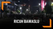 Polisi Pukul Mundur Pendemo Bawaslu di Jalan Sabang
