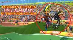 Insiden Mengerikan Hingga Finis Menenteng Sepeda BMX di Olimpiade Rio 2016