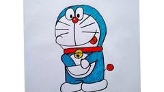 menggambar Doraemon