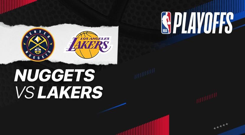 Nuggets vs Lakers - NBA cover