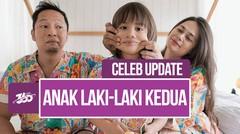 Celeb Update! Selamat, Kelahiran Anak Kedua Ringgo Agus Rahman dan Sabai Dieter