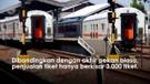 Libur panjang penumpang di Stasiun Cirebon naik 50%