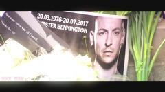Duka Para Fans Rusia Atas meninggalnya Chester Bennington, Mengharukan...!