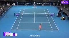 Match Highlights | Danielle Collins 2 vs 0 Saisai Zheng | WTA Adelaide International 2021