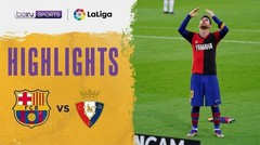 Match Highlight | Barcelona 4 vs 0 Osasuna | La Liga Santander 2020