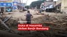 Duka di Masamba Akibat Banjir Bandang