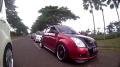 Kopdar Indonesia Car Fest 2016 Sentul - Swift Club Indonesia