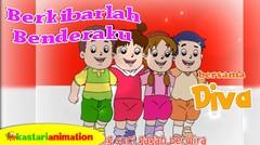 Berkibarlah Benderaku | Lagu Anak Indonesia bersama Diva | Kastari Animation