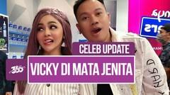 Celeb Update! Perhatian Sayang Jenita Janet untuk Vicky Prasetyo