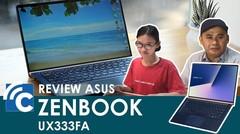 ASUS Zenbook 13 UX333FA, Laptop 13 Inci Paling Ringkas dan Bertenaga