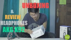 Unboxing & Review Headphone AKG K92 | Headphone Monitoring Mixing Mastering