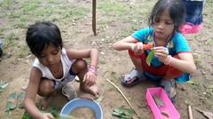 Masaknya Ecek-ecek, Makannya Beneran - Persepsi Anak