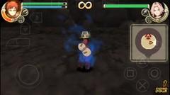 Kazekage GARA Lawan SASORI Akatsuki | Game Psp