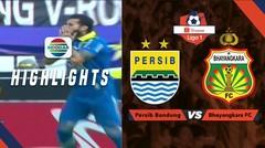 Half Time Highlights: Persib Bandung vs Bhayangkara FC | Shopee Liga 1