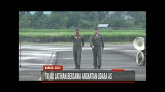 TNI AU RI Latihan Bersama Angkatan Udara AS