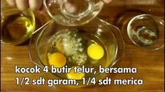 Resep Jajanan Sate Telur Gulung Enaaakkk Banget