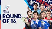 YONEX French Open 2021: Round of 16