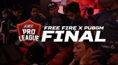 DPGL FINAL 2019 - FREEFIRE X PUBGM