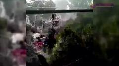 Bikin Merinding! Suara Adzan Saat Angin Kencang di Banjarnegara