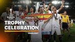 Sevilla's Europa League Trophy Celebration | UEFA Europa League Final 2019/2020