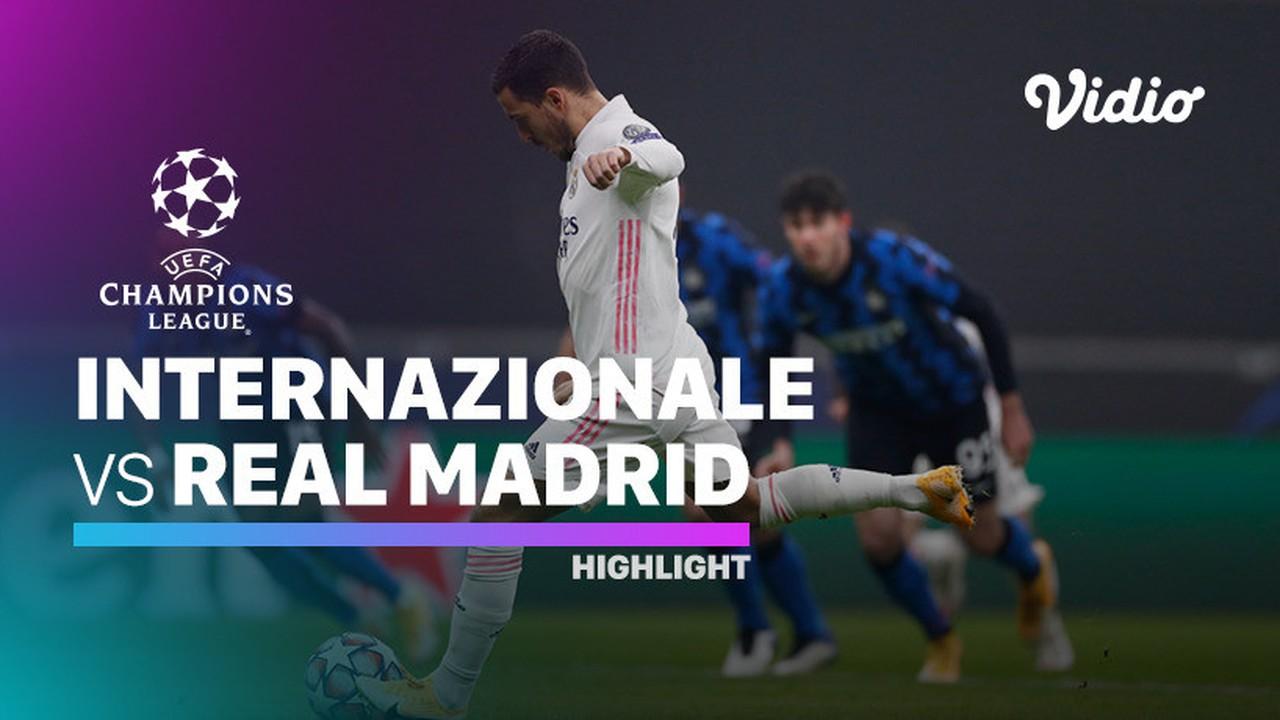 Streaming Highlight - Inter Milan vs Real Madrid I UEFA ...