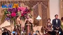 Raffi Ahmad dan Nagita Slavina Nyanyi Kamulah Takdirku Di Resepsi Jakarta
