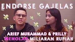 ARIEF MUHAMMAD & PRILLY MENOLAK MILIARAN RUPIAH ( PART 2 ) | MIMICAN