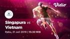 Full Match - Singapura 0 VS 1 Vietnam    Piala AFF U-15 2019